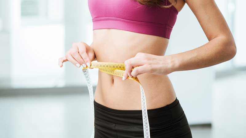 use weight with belly tonic